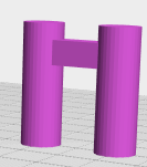 Bridges are printable if short enough`