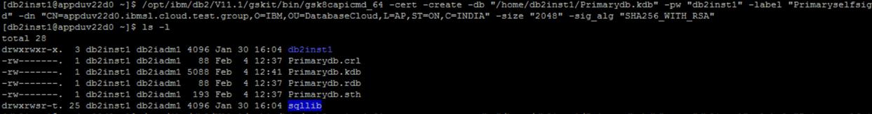 Adding new SSL certificate