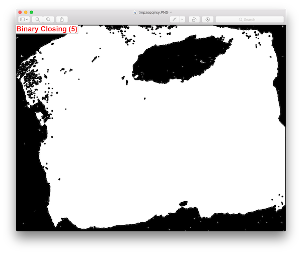 Binary Closing (disk_size = 5)