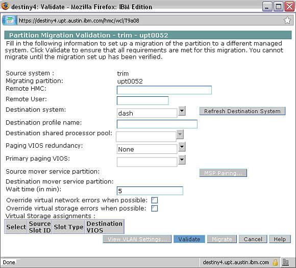 Basic understanding and troubleshooting of LPM – IBM Developer