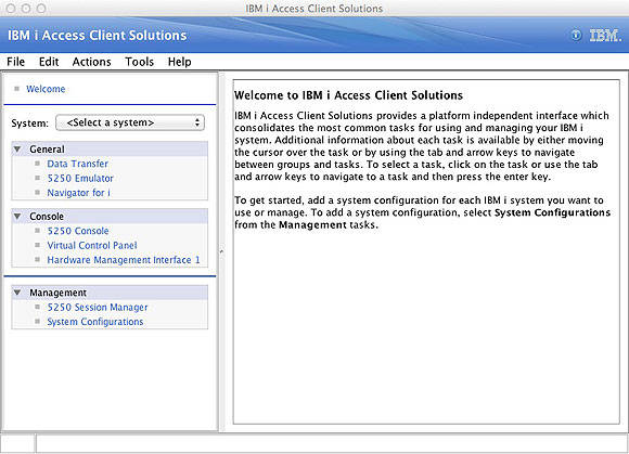 IBM i Access Client Solutions: Accessing IBM i has never