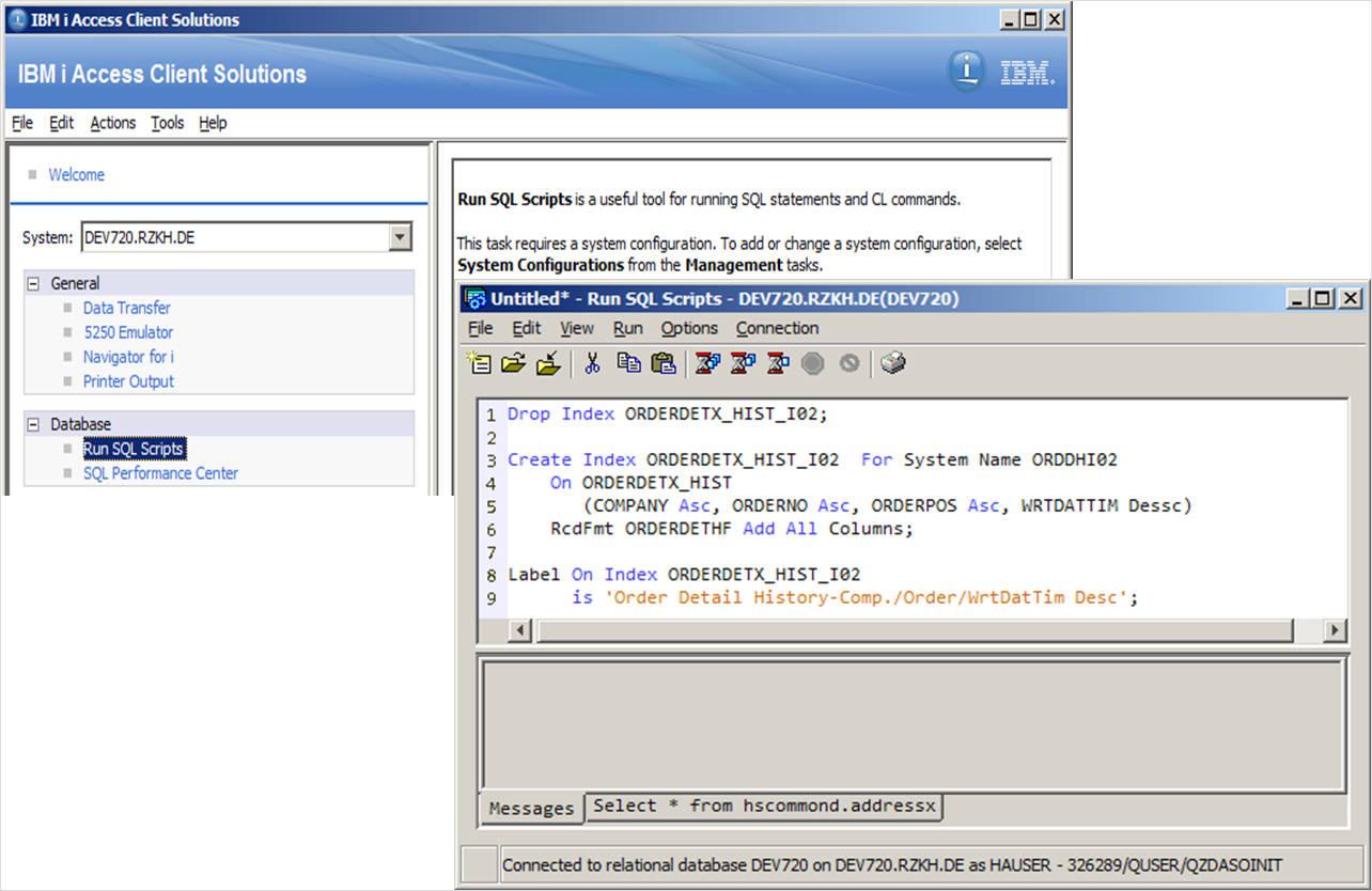 SQL indexes and native I/O – no contradiction – IBM Developer