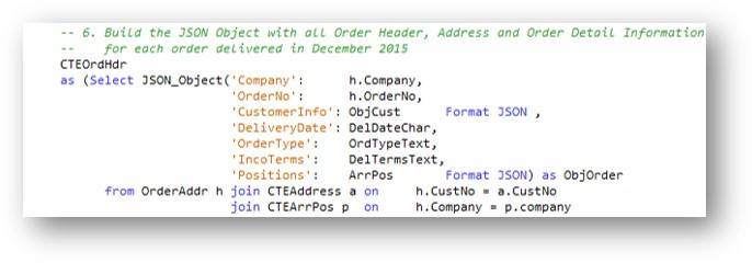SQL JSON publishing functions – IBM Developer