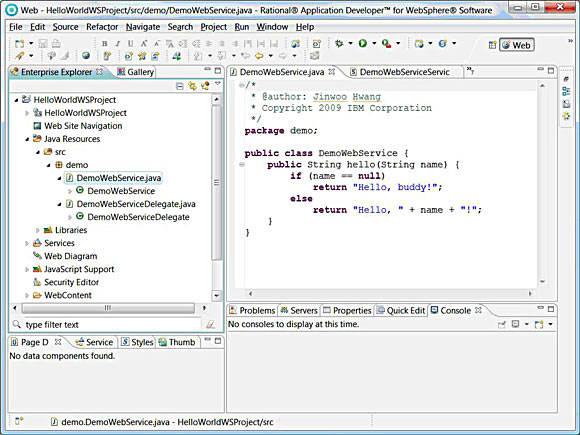 DemoWebService.java