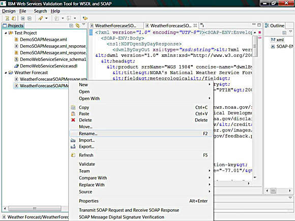 Renaming xml file