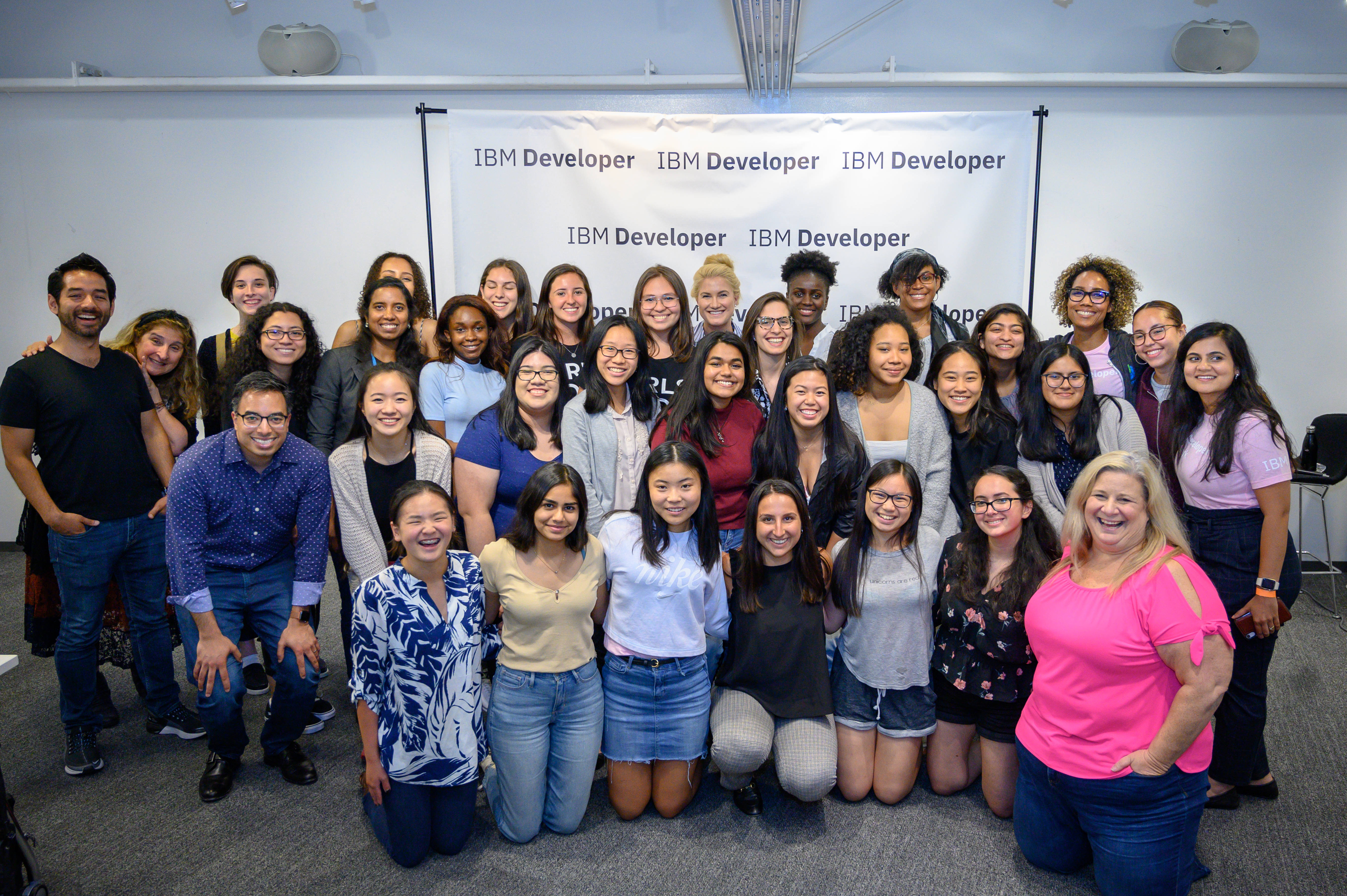 participants girls who code