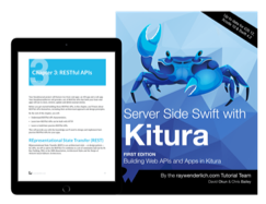 Book cover for Server Side Swift with Kitura