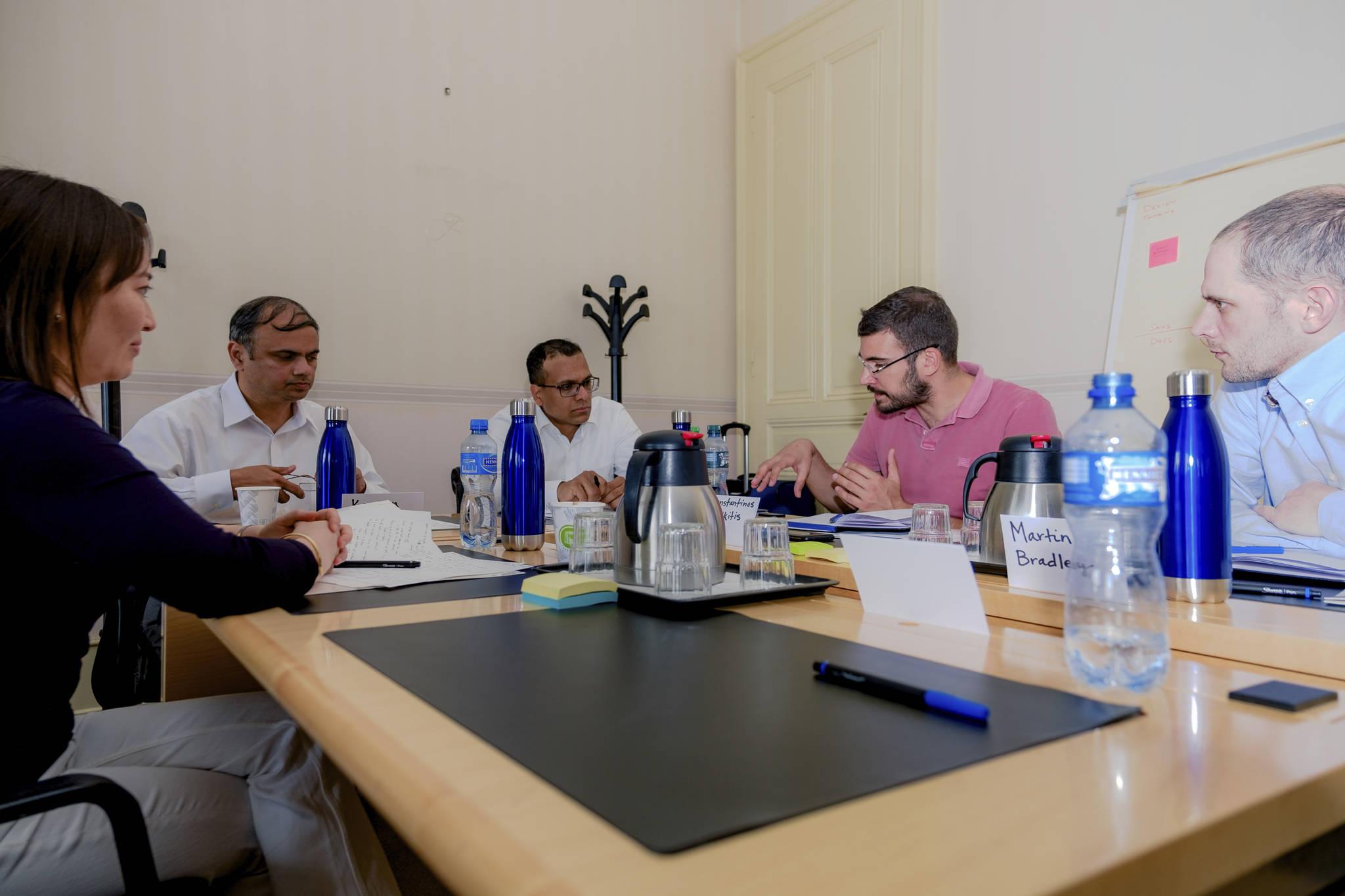konstantinos team at geneva working