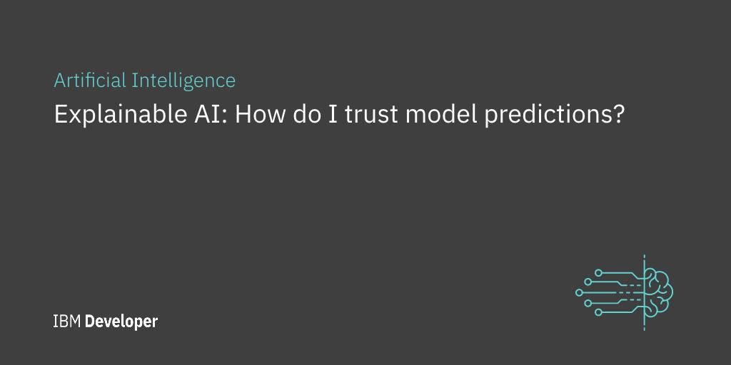 Machine Learning Models: How do I trust model predictions