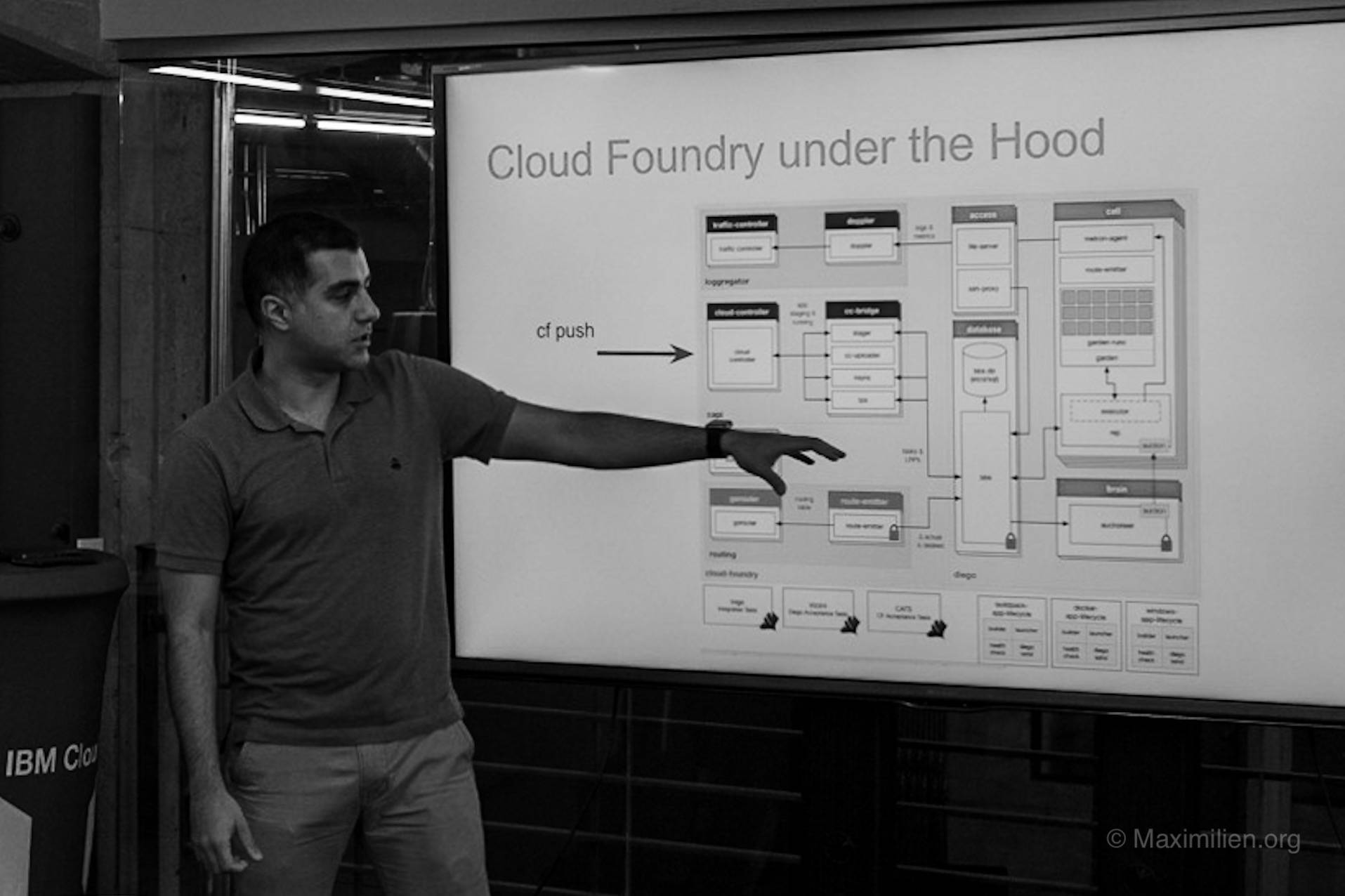 Cloud Foundry under the hood