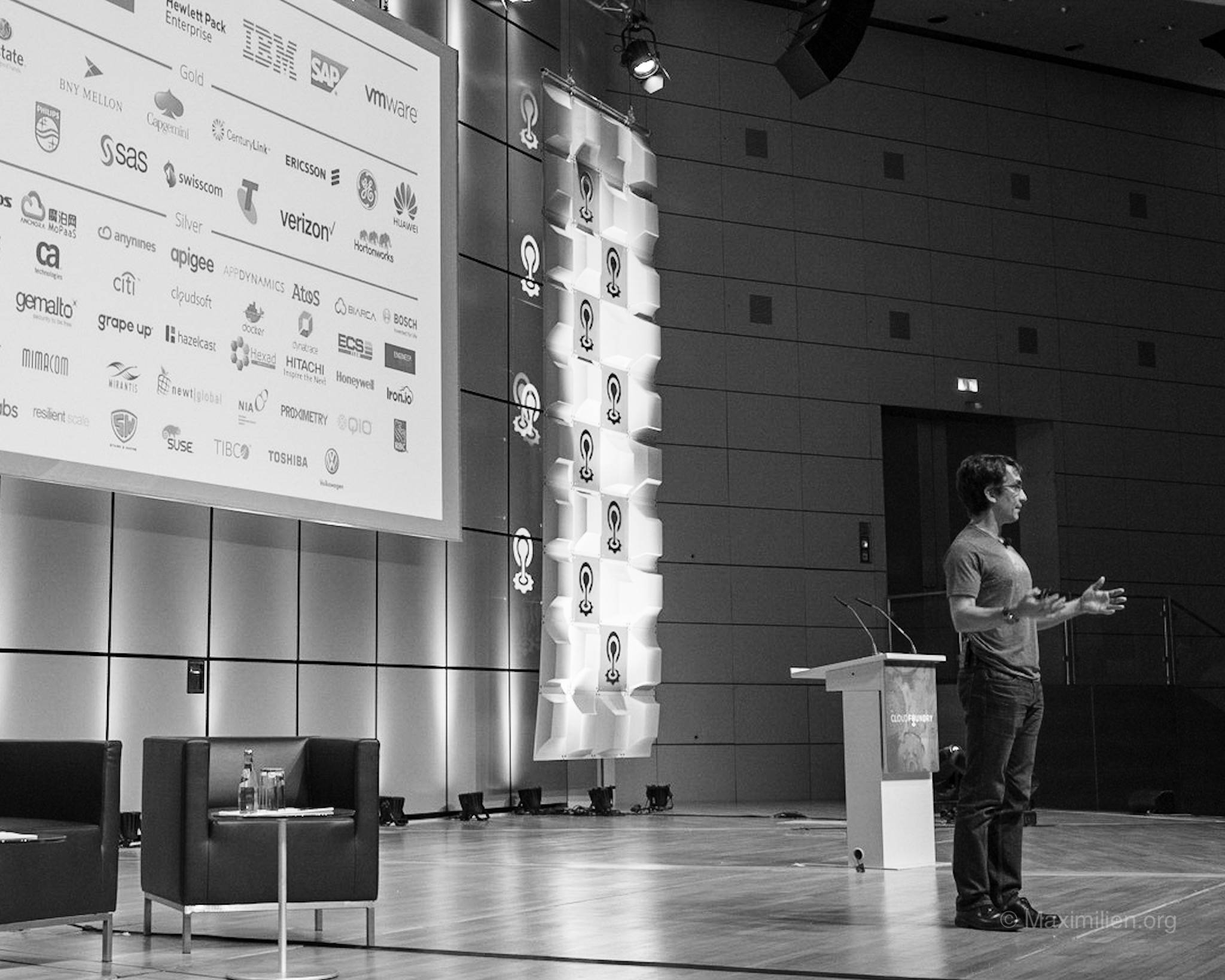 Sam Ramji first CEO of the Cloud Foundry Foundation. At CF Summit 2016 in Frankfurt, Germany