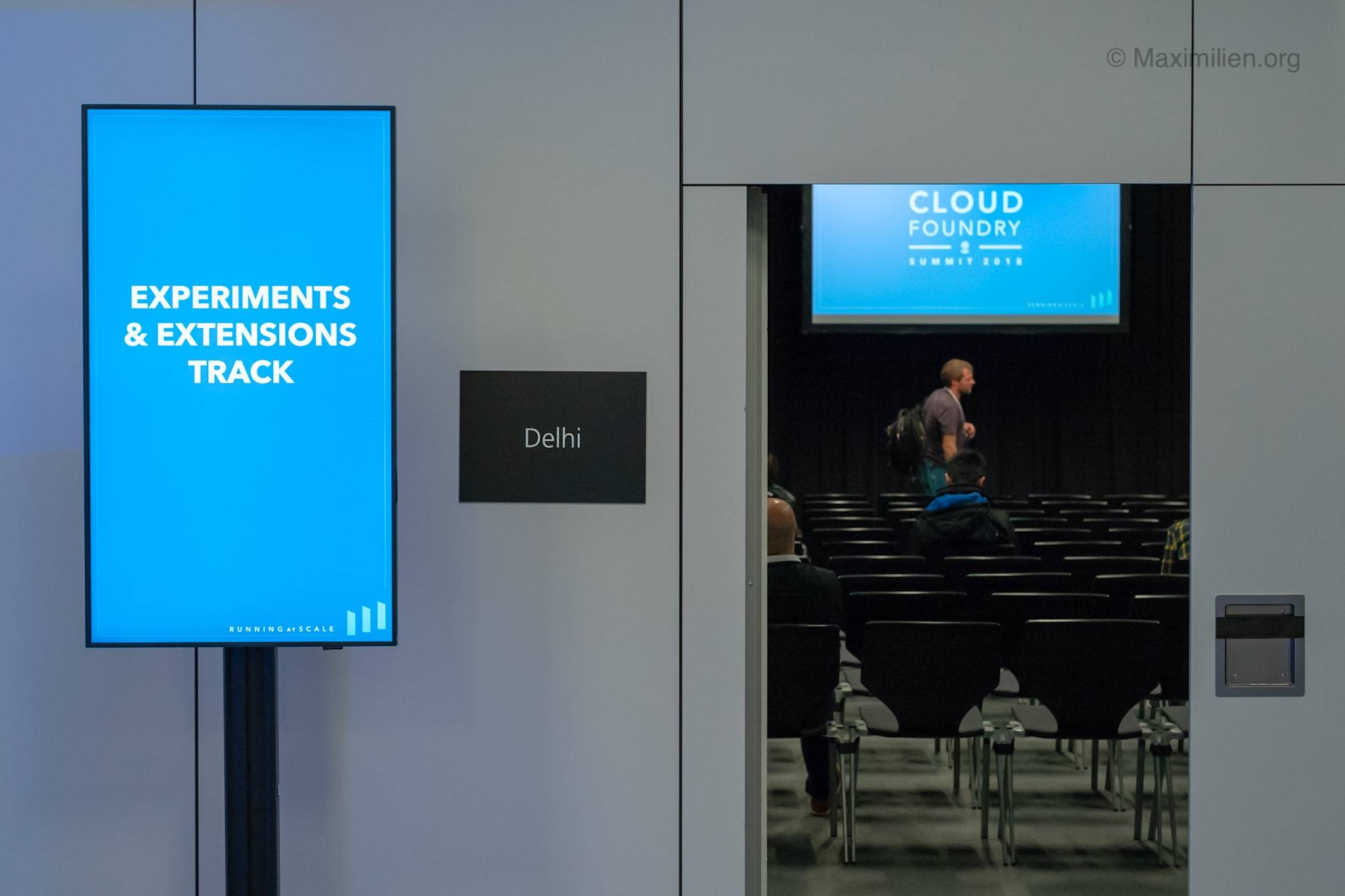 Experimentation and Extensions track at CF Summit 2018 in Basel