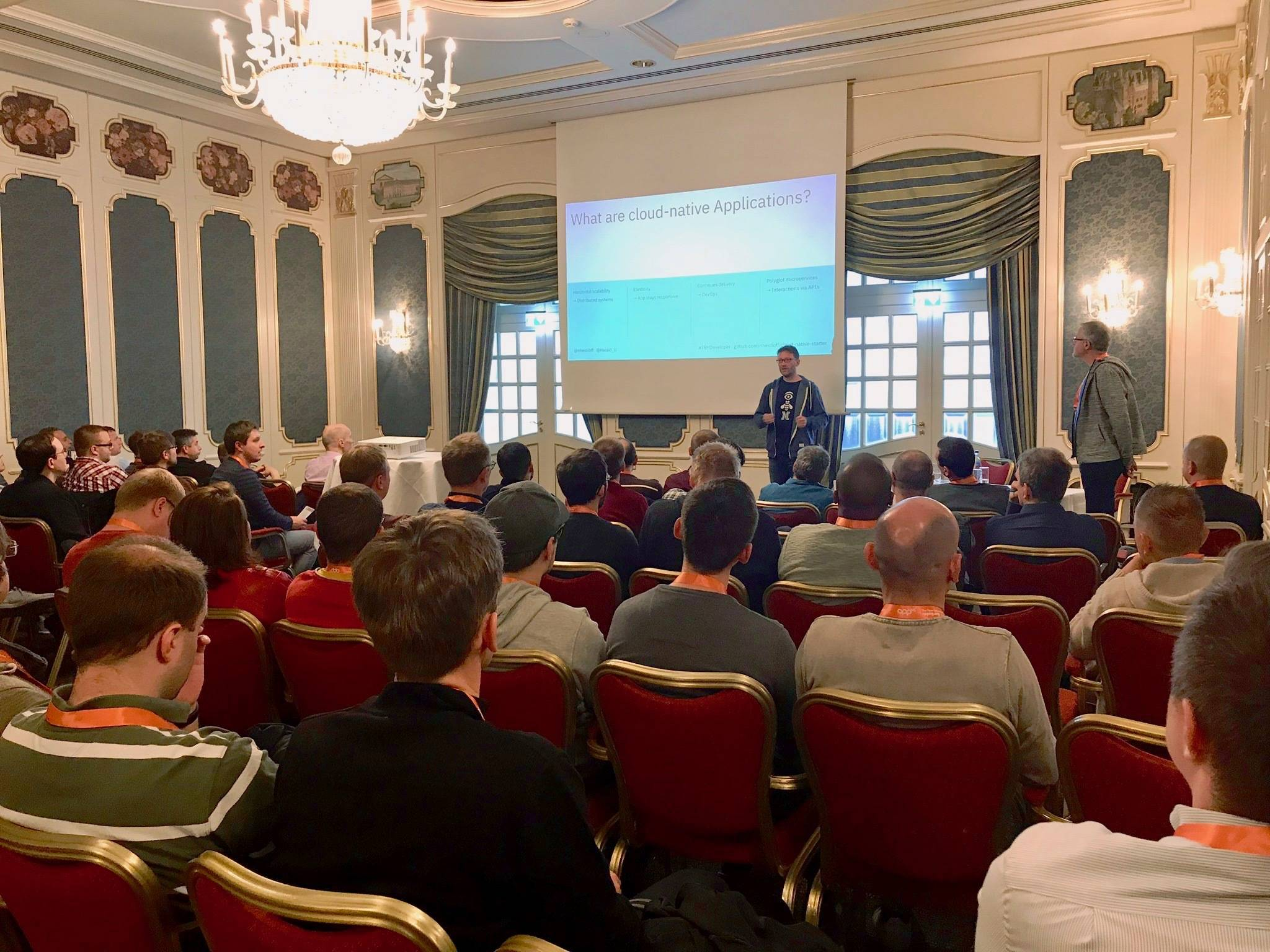 What are cloud native applications? session at JAX 2019