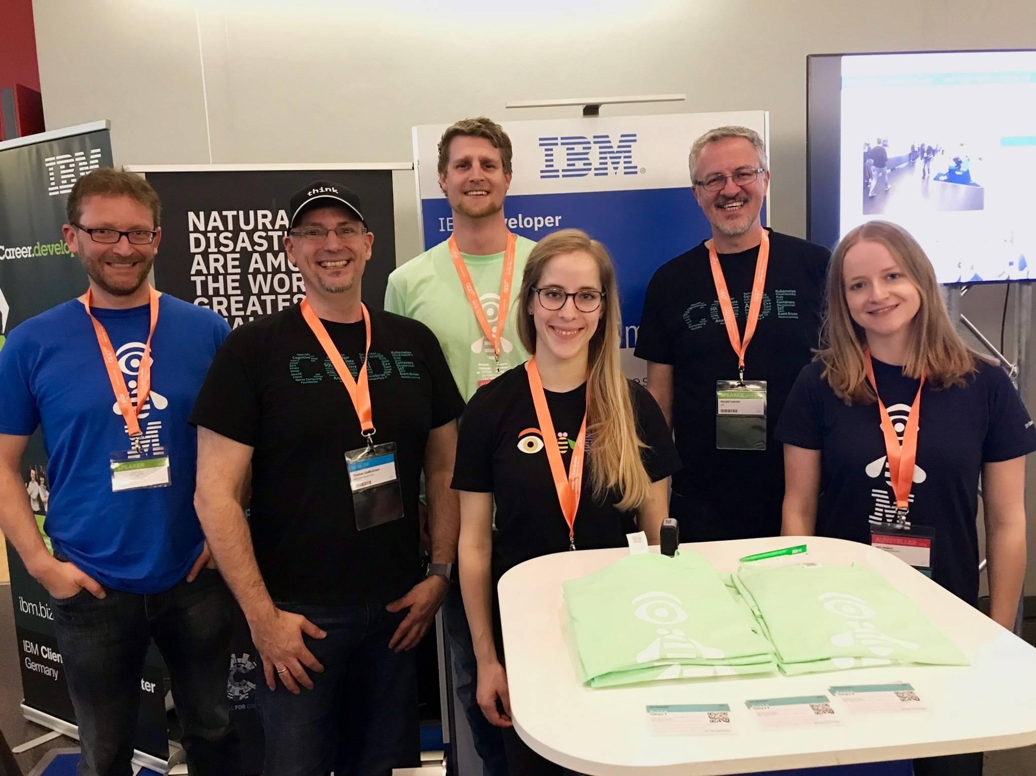 The IBM team at JAX 2019