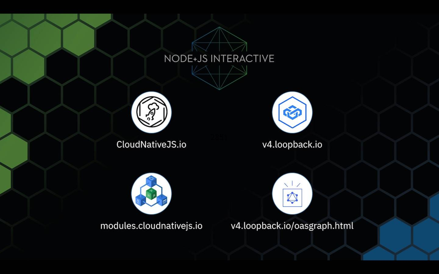 New LoopBack projects