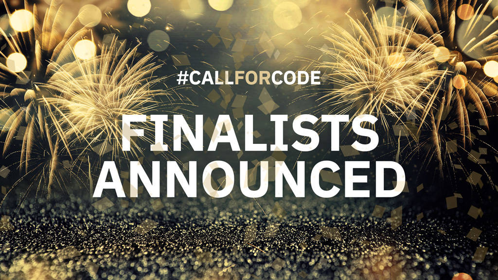 Call for Code 2018 Finalists