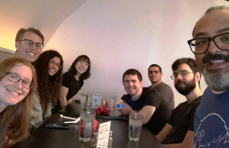 IBM Developer team lunch