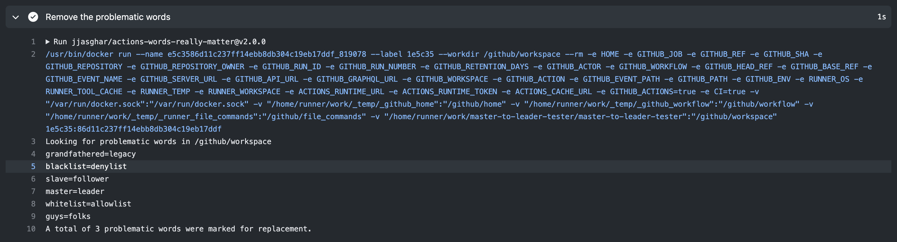 GitHub Logs