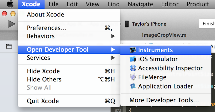 Allocations xcode tutorial instruments How to