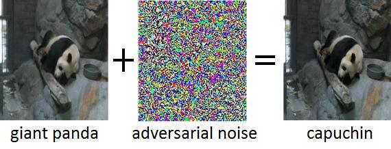 Adversarial noise image