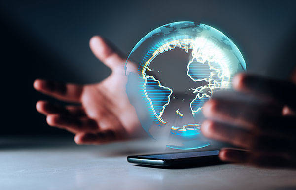 Build a global finance application on blockchain
