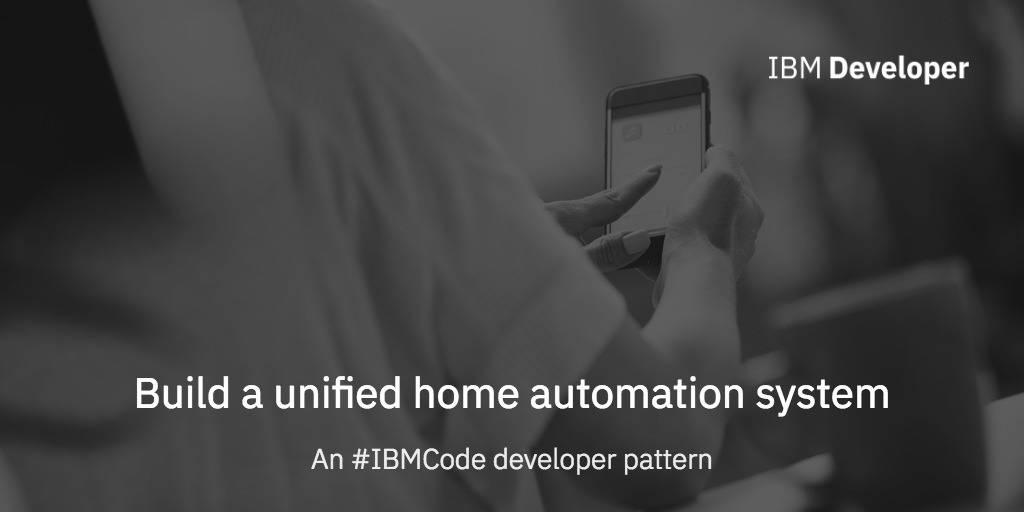 Build a unified home automation system