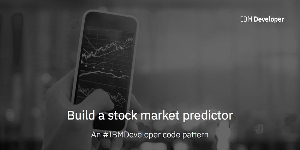 Python Code for stock market predictions with Watson Studio – IBM