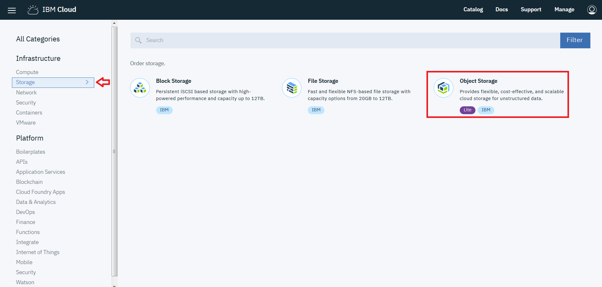 Analyze images from Cloud Object Storage with Watson Visual