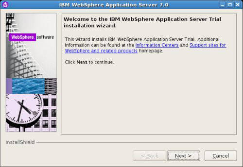 Install and configure WebSphere Application Server on UNIX and Linux