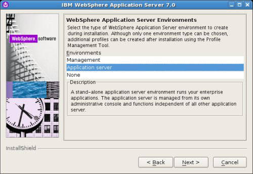 Install and configure WebSphere Application Server on UNIX