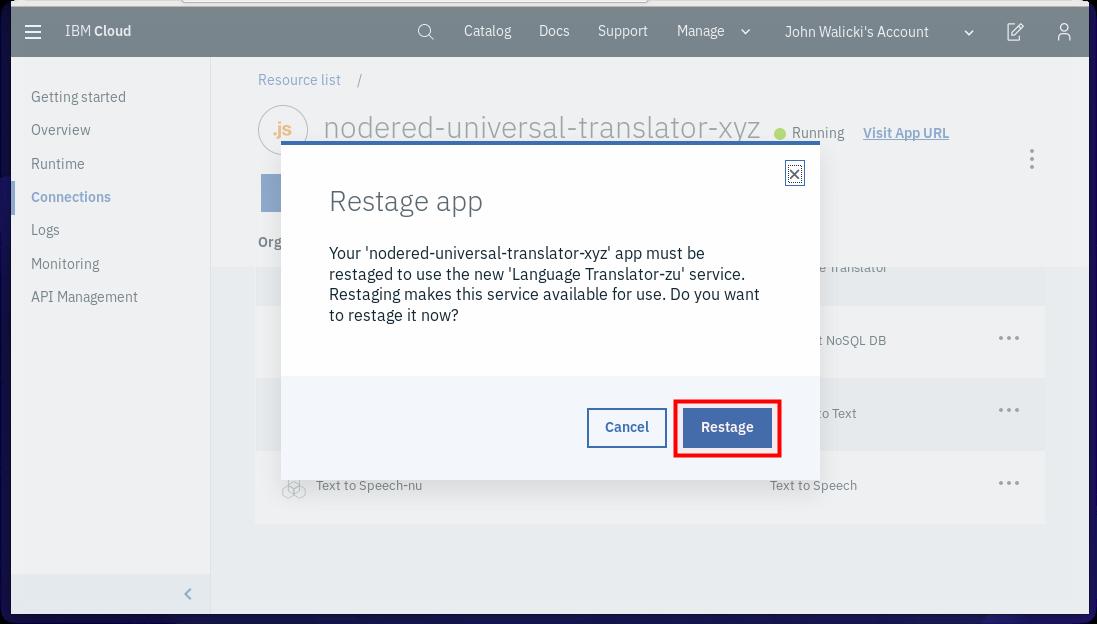 App Restage