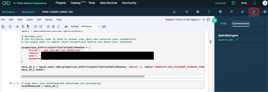 Extract insights from social media posts with Watson and