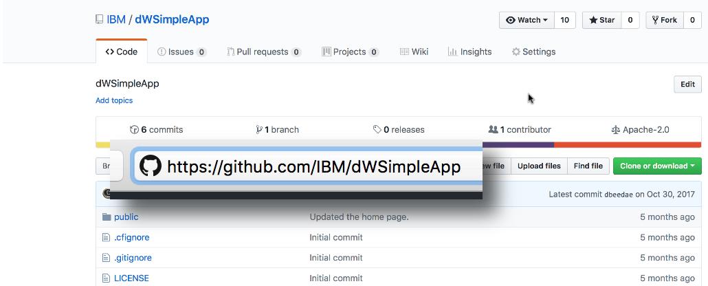 Work with cloned git repos in IBM Cloud – IBM Developer