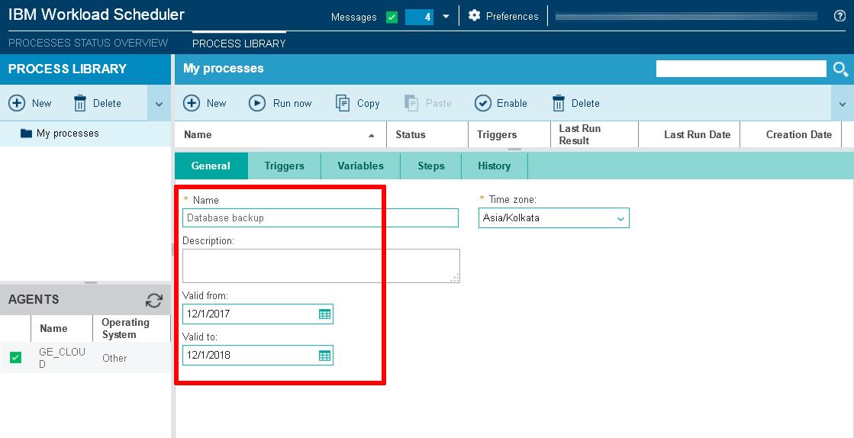 Workload Scheduler process details