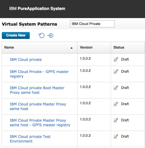 Using IBM Cloud Private as a filter