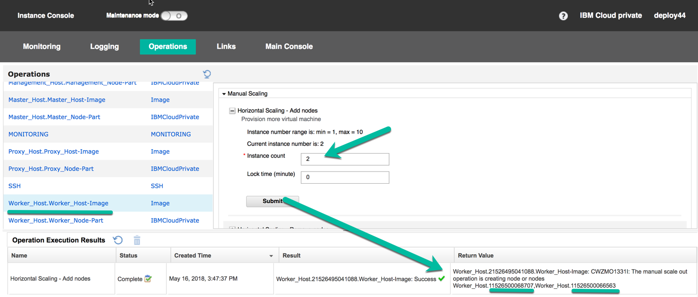 Manually adding IBM Cloud Private worker nodes