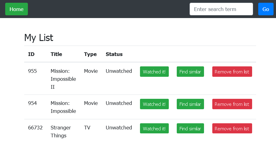 Create a personal video watchlist in the cloud with PHP and the