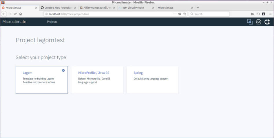 Create and deploy Lagom Reactive applications with