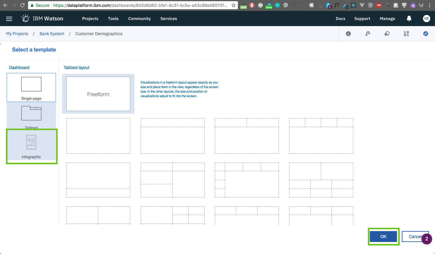 dashboard: Select a Template