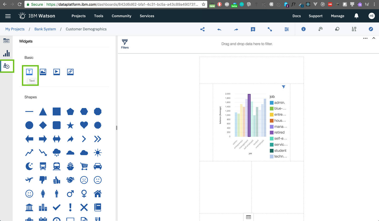 dashboard: Define Data Source