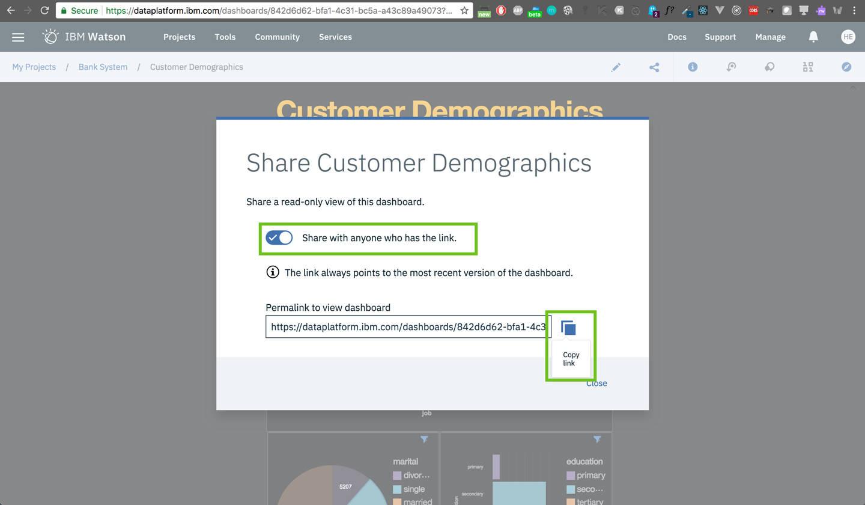 dashboard: Share