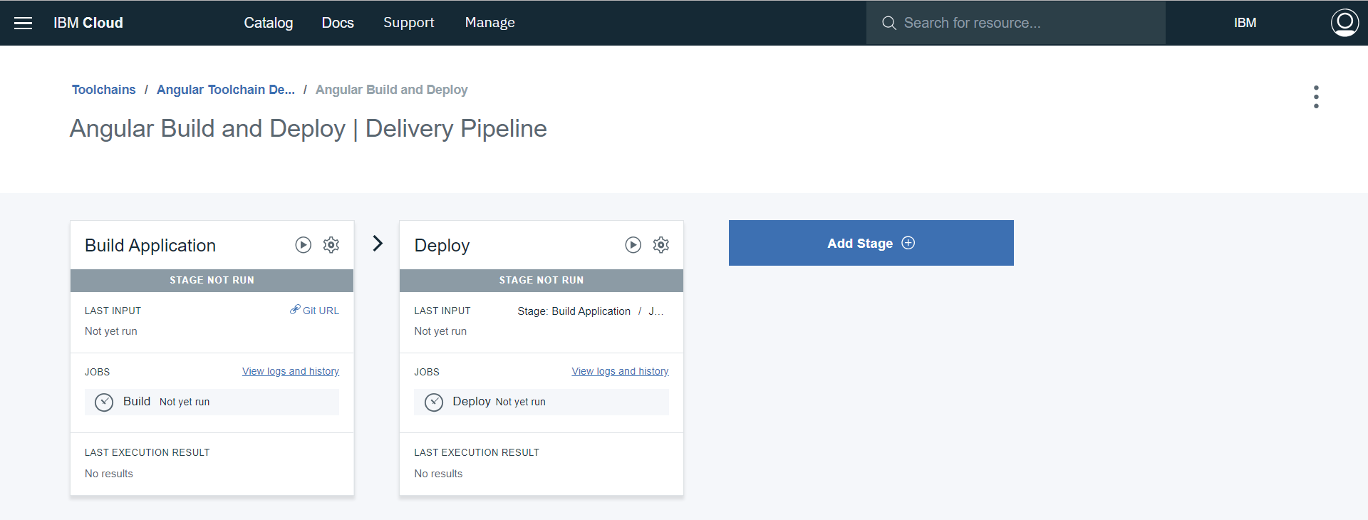 Complete Delivery Pipeline