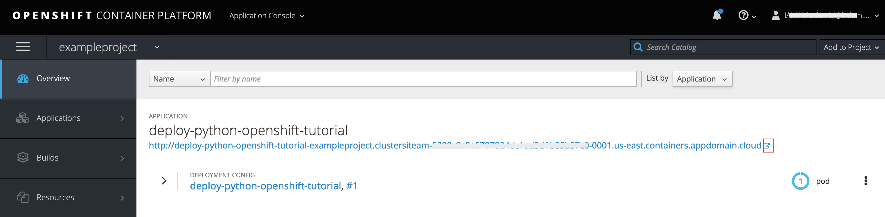 Three ways to deploy a Python app into an OpenShift cluster