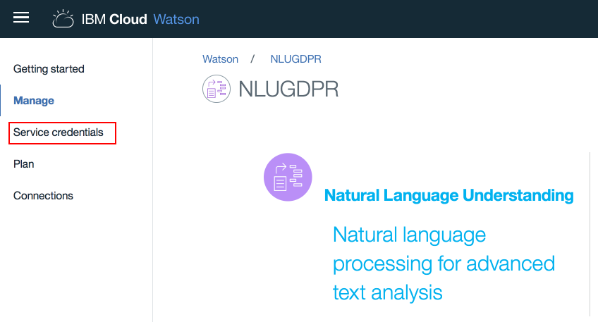 Extracting personal data from unstructured text using Watson