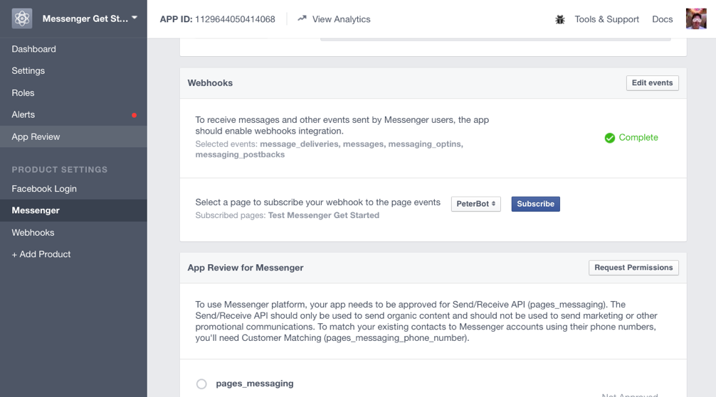 Use Watson Assistant and Botkit to create a Facebook Messenger