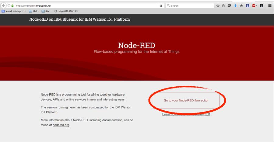Node-RED Flow