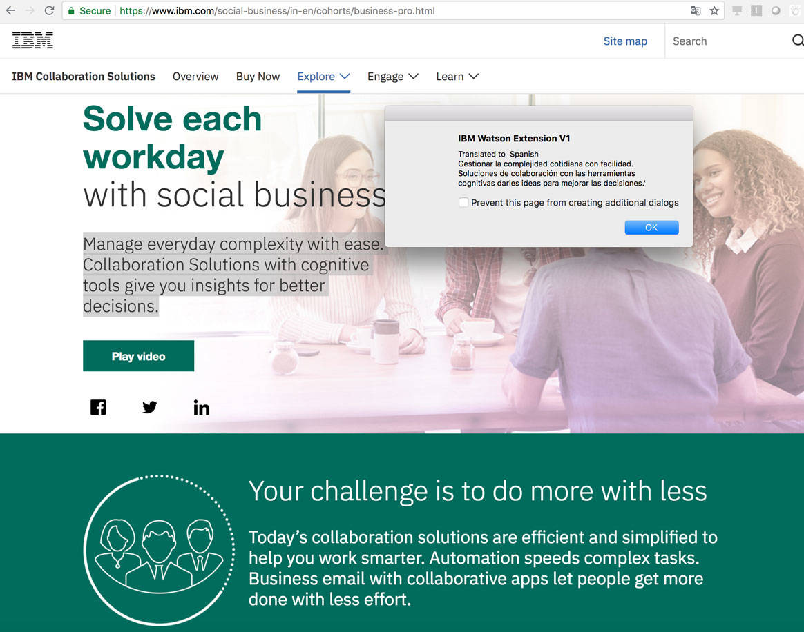 How to create a browser extension that leverages IBM Watson