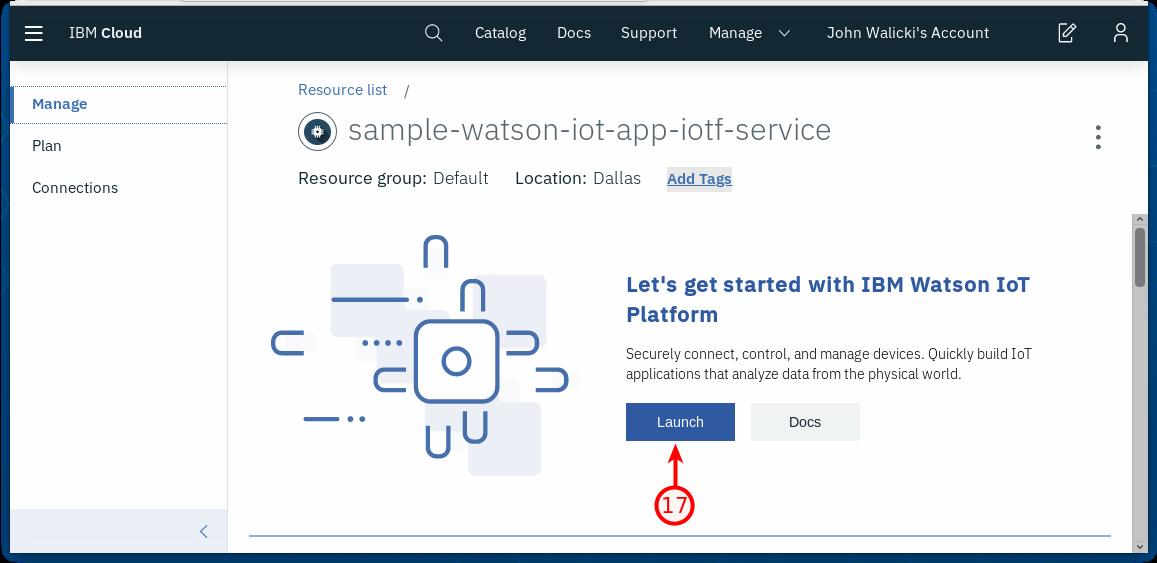 IoT Platform Landing Page