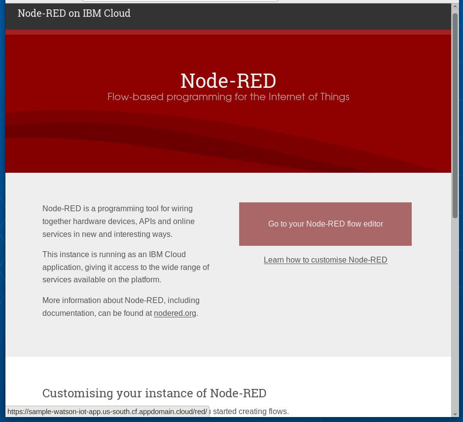 Node-RED Launch