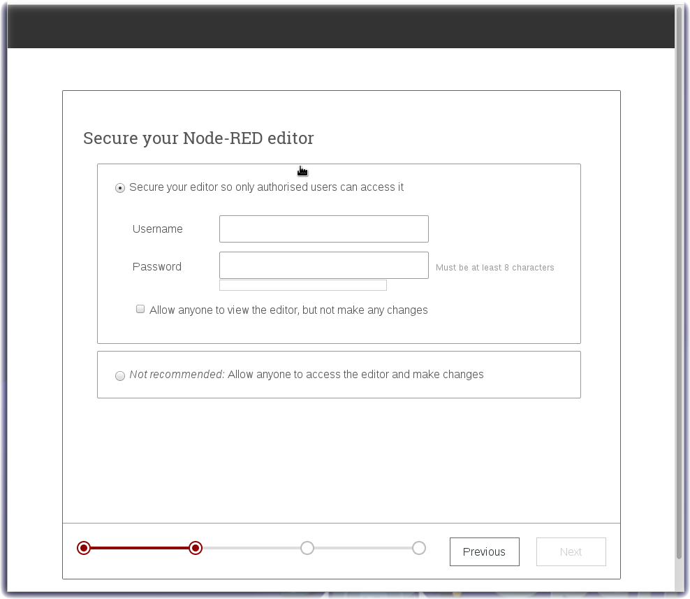 Node-RED security